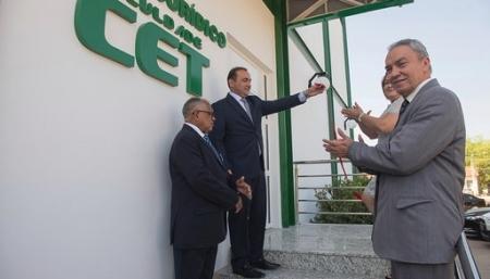 Inauguração do Núcleo de Práticas Jurídicas da Faculdade CET